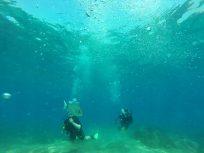 Scuba Diving at the RAF Akrotiri camp in Cyprus