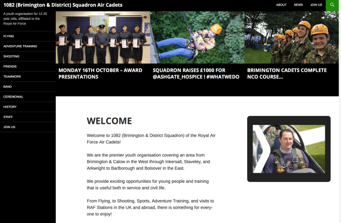 Brimington Air Cadets website updated