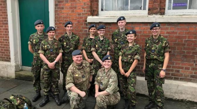Brimington & District Air Cadets Open Evening Wed 21 Mar 2018