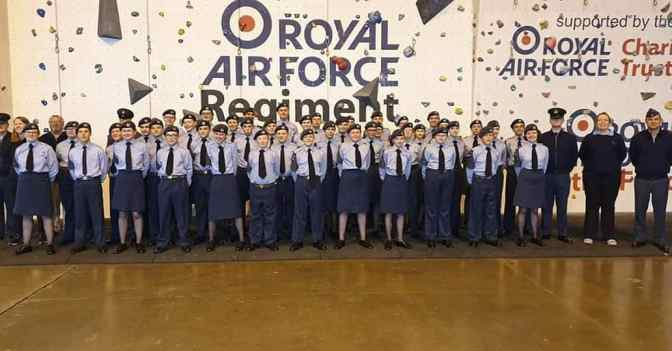 Easter camp at RAF Honington